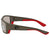 Costa Del Mar Polarized Copper Silver Mirror Glass Large Fit Sunglasses