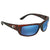 Costa Del Mar Fantail Blue Mirror Rectangular Sunglasses TF 10 OBMP