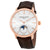 Frederique Constant SlimLine Moonphase Automatic Silver Dial Mens Watch FC-705V4S9