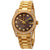 Rolex Datejust 31 Black Mother of Pearl Jubilee Diamond Dial Ladies 18kt Yellow Gold President Watch 178158BKMJDP