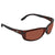 Costa Del Mar Zane Copper Polarized Plastic Rectangular Sunglasses ZN 10 OCP