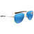 Costa Del Mar Cook Blue Mirror 580G Polarized Aviator Unisex Sunglasses COO 21 OBMGLP