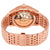 Omega De Ville Chronometer Silver Dial 18K Rose Gold Mens Watch OM43150412102001