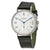 Nomos Tangomat GMT White Dial Leather Strap Mens Watch 635