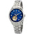 Bulova Classics Automatic Blue Mother of Pearl Diamond Dial Ladies Watch 96P191