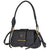Prada Sidonie leather Shoulder Bag- Black