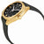 Gucci GG2570 Black Dial Yellow Gold-tone Ladies Watch YA142408