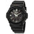 Casio G-Shock Alarm World Time Black Dial Mens Watch GAS-100B-1ACR