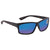 Costa Del Mar Cut Blue Mirror 580G Polarized Rectangular Mens Sunglasses UT 01 OBMGLP