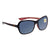 Costa Del Mar Polarized Grey Plastic (580) Square Sunglasses KAR 132 OGP