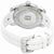 Eberhard and Co Scafomatic White Dial Automatic Mens White Rubber Watch 41026.1CU