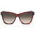 Fendi Peekaboo Brown Shaded Square Ladies Sunglasses FF0289S008655