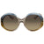 Chloe Blue Grey Gradient Round Sunglasses CE732S 428 57