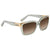Chloe Brown Gradient Ladies Sunglasses CE632S31756