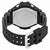 Casio G-Shock Gravitymaster Alarm World Time Black Dial Mens Watch GA1100-1A1