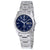 Seiko Blue Dial Titanium Mens Watch SGG729