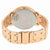 Guess Montauk Rose Dial Rose Gold PVD Ladies Watch W0933L3