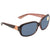 Costa Del Mar Gannet Gray 580P Rectangular Sunglasses GNT 132 OGP