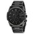 Diesel Master Chief Black Dial Black Mens Watch DZ4180
