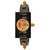 Gucci Vintage Web Gold Skeletal Dial Ladies Watch YA143508