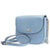 Michael Kors Mott Pebbled Leather Crossbody- Powder Blue
