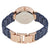 Anne Klein Navy Blue Mother of Pearl Dial Ladies Watch AK/3266NVRG