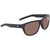 Costa Del Mar Bayside Polarized Copper Silver Mirror Rectangular Sunglasses BAY 11 OSCP