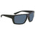 Costa Del Mar Hamlin Gray 580P Rectangular Sunglasses HL 01 OGP