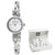 Anne Klein Mother of Pearl Dial  Ladies Watch Set 3083SVST