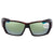 Costa Del Mar Tuna Alley Green Mirror 580G Polarized Wrap Mens Sunglasses TA 10 OGMGLP