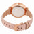 Fossil Jacqueline White Dial Pastel Pink Leather Ladies Watch ES4369