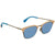 Fendi Blue Square Sunglasses FF 0228/S SCB/KU 50
