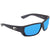 Costa Del Mar Tuna Alley Large Fit Blue Mirror Glass Rectangular Polarized Sunglasses TA 11 OBMGLP