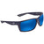 Costa Del Mar Reefton Blue Mirror 580P Rectangular Sunglasses RFT 75 OBMP