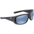 Costa Del Mar Montauk Grey Blue Mirror 580P Rectangular Sunglasses MTK 188 OBMP