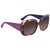 Dior Lady Blue Gradient Rectangular Ladies Sunglasses LADYL1RS 0GRV 56