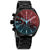 Diesel MS9 Chronograph Quartz Black Iridescent Dial Mens Watch DZ4489