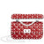 Valentino Rockstud Spike Small Shoulder Bag- Red