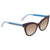 Fendi Brown Gradient Cat Eye Ladies Sunglasses FF 132/S TRD/J6 51