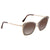 Tom Ford INDIA Brown Gradient Butterfly Ladies Sunglasses FT0605-50K