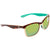 Costa Del Mar Anaa Medium Fit Green Mirror Glass - W580 Square Sunglasses ANA 105 OGMGLP