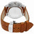 Edox Les Vauberts Rose Gold Dial Mens Watch 40101 3C BEBN