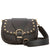 Marc Jacobs Studded Navigator Shoulder Bag- Black