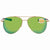 Costa Del Mar Cook Green Mirror 580P Aviator Sunglasses COO 126 OGMP