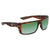 Costa Del Mar Motu Green Mirror Polarized Plastic Square Sunglasses MTU 66 OGMP