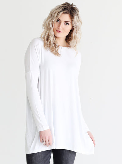 White Long Sleeve Tunic