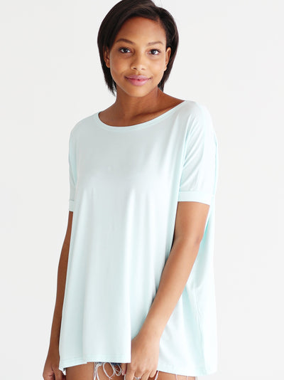 Mint Short Sleeve Top