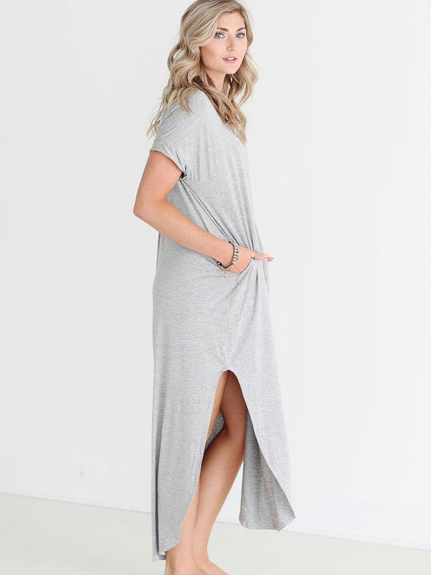 Heather Gray DLMN Maxi Dress