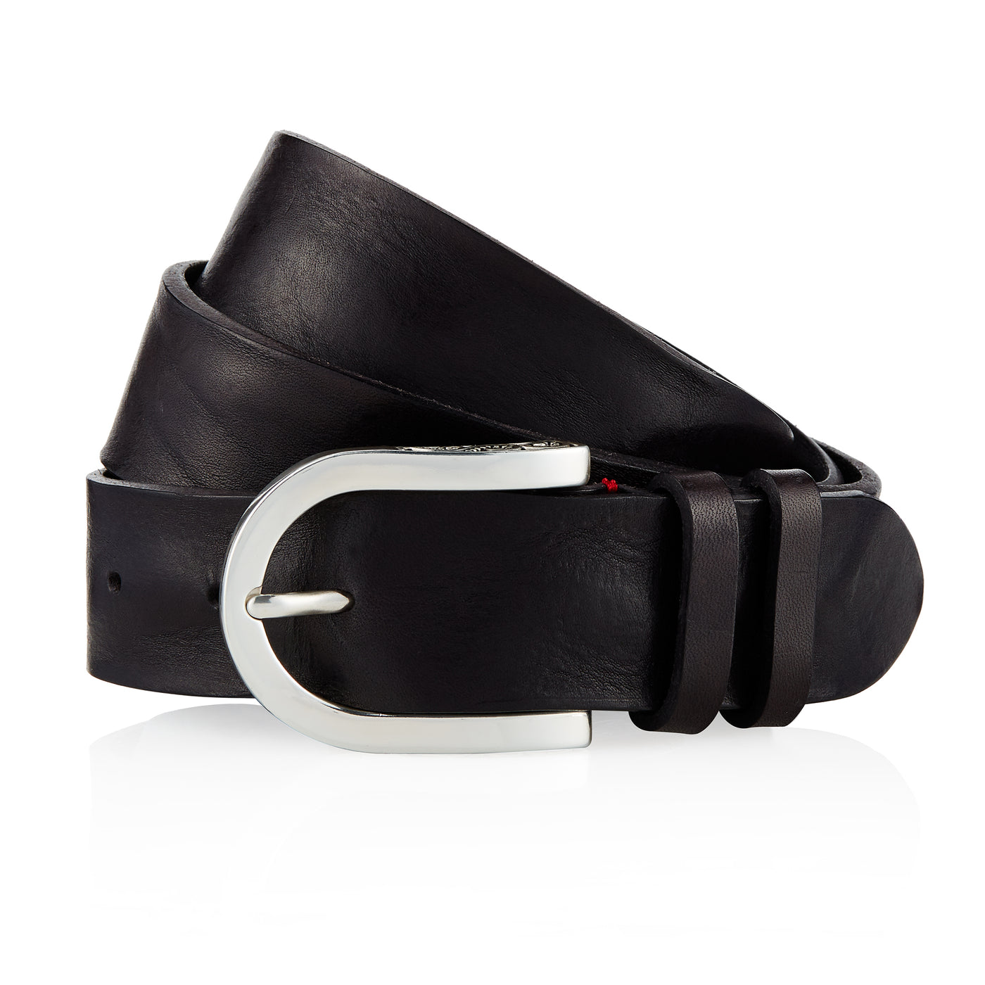 Afar - Handcrafted Italian Belt / Black