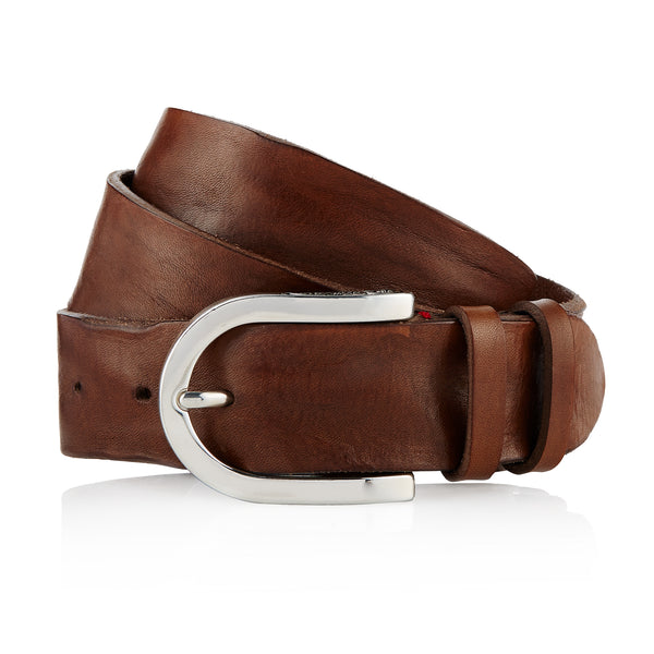 Afar - Handcrafted Italian Belt / Mud